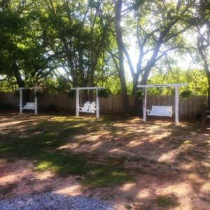 All About Relaxing RV Park - Nice sitting areas