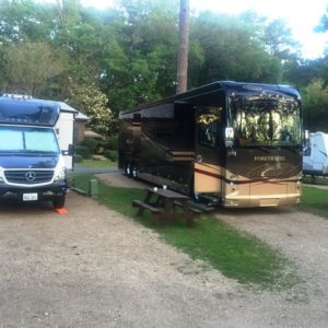 Tallahassee RV Park Review - Pic of Sites