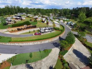 Lake Greenwood Motorcoach Resort - Site review