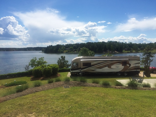 Lake Greenwood Motorcoach Resort – Park Review