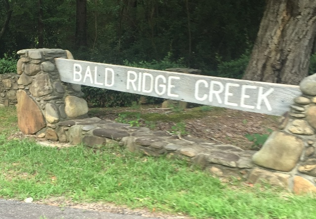 Bald Ridge Creek Campground
