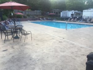 Lake Rutledge rv resort pool