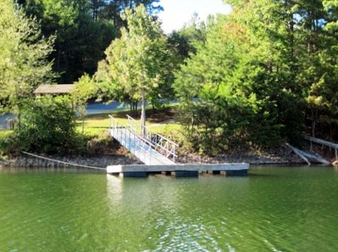 Duckett Mill Campground - Dock