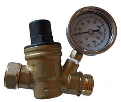 Adjustable Water pressure regulator